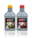Photo of AMSOIL Synthetic Motor Oil. Excalibur Automotive. Austin, TX.